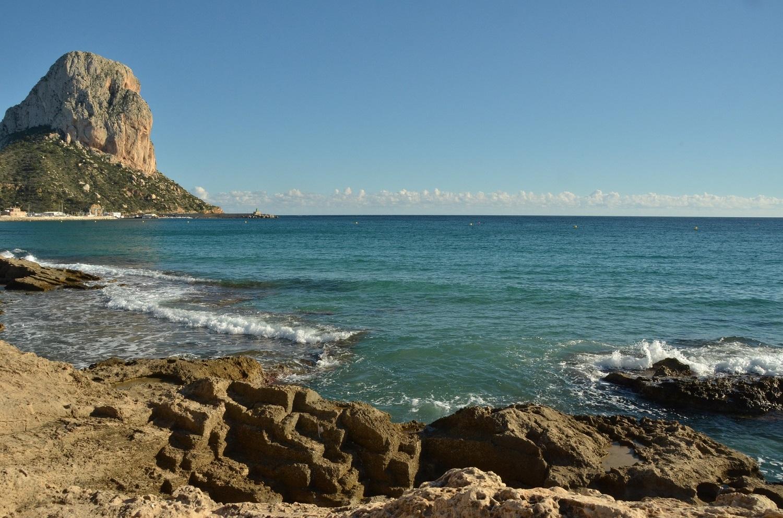 Кальпе морепродукты, пляжи и Пеньон де Ифач